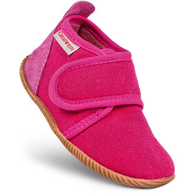 Giesswein Strass Slipper Kids Slim Fit raspberry